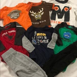 6 month baby bundle 8 pieces